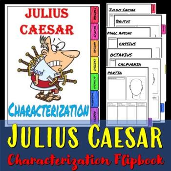 Julius Ceasar Interactive Characterization book