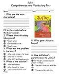 Julius Comprehension & Vocabulary Test