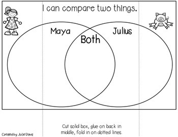 Julius Interactive Notebook Journal