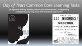 Julius Lester's Day of Tears Common Core Learning Tasks - 16 Rigorous Tasks!!
