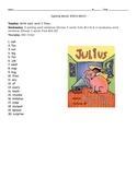 Julius Spelling Lists