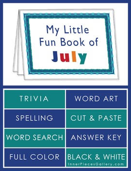 My Little Fun Book of July Helps Reinforce the Months of the Year
