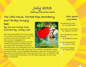 July 2013 Homework Calendar