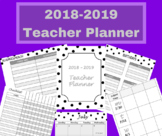 July 2018 - June 2019 Elementary Teacher Planner - Lesson