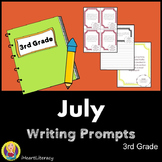 Writing Prompts July 3rd Grade Common Core