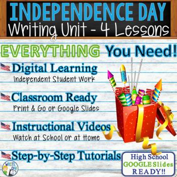 July 4th Writing BUNDLE! - Argumentative, Persuasive, Expository, Narrative
