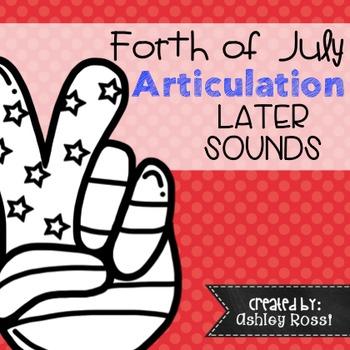 July 4th Articulation: No Prep