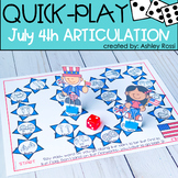 July 4th Articulation Speech Therapy