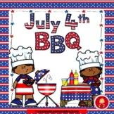 July 4th BBQ Emergent Reader Set