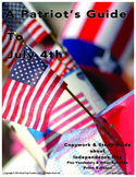 July 4th Copywork Study Guide (Print Edition)