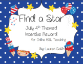 July 4th Find A Star Reward System for Online ESL Teaching