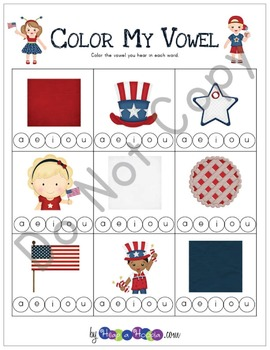 July 4th Games and Activities for Kindergarten, First and Second Grades