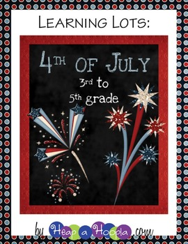 July 4th Games and Activities for Third, Fourth and Fifth grades