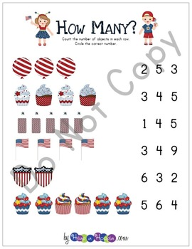 July 4th Games and Activities for Toddler & Preschool