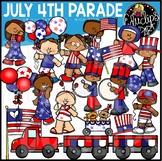 July 4th Parade Clip Art Set {Educlips Clipart}