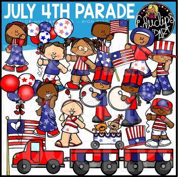 Art set. July th parade clip