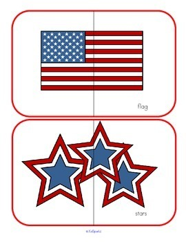 July 4th Puzzles Collection for Preschool and Pre-K