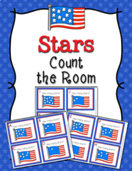 July 4th Stars Count the Room