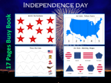 July 4th United States Independence Day Busy Book, T- 214