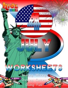 July 4th Worksheet Set (40 pages)