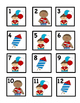 July ABAC Patterned Cards with Cute Graphics: Fits Small a