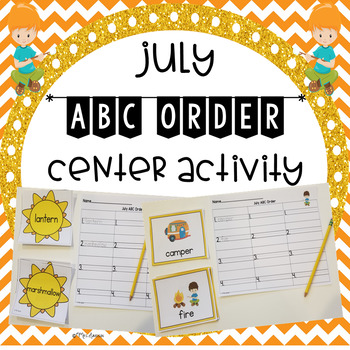 July ABC Order Center