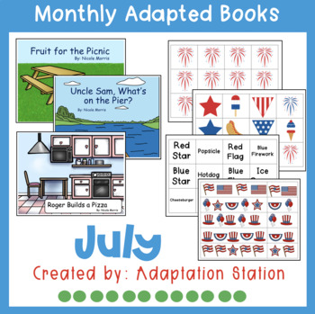 July Adapted Books