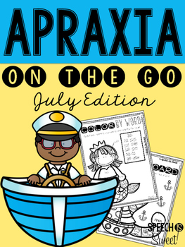 July: Apraxia On the Go