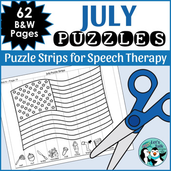 July Articulation Puzzles