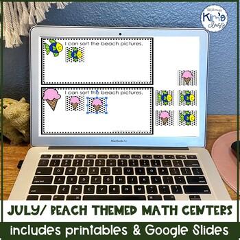 July / Beach & Summer Math Centers