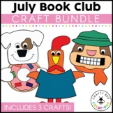 July Book Club {Camping Squirrel, Dogs Eat Donuts, & Interrupting Chicken}