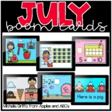 July Boom Cards / Morning Work for Distance Learning