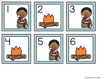 July Calendar Pieces {freebie sampler!}