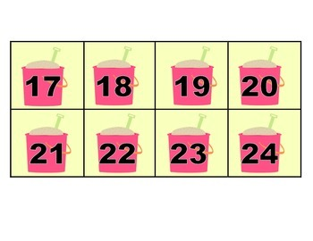 July Calendar Squares