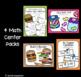 July Centers - 1st Grade - Math