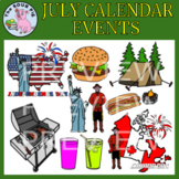 July Clipart - Celebrate Events