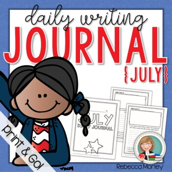 July Daily Journal (Writing Prompts)