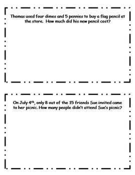 July Daily Math Journal
