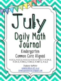 July Daily Math Journal (Common Core Aligned)