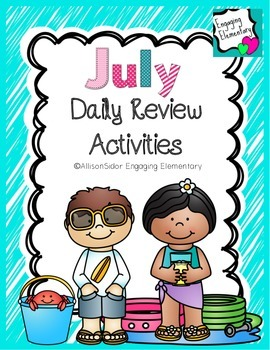 July Daily Review Activities