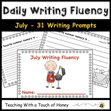 July Writing Prompts - 31 Sentence Starters For Writing Fluency