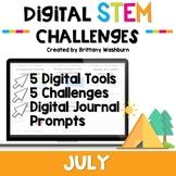 July Digital STEM Challenges™
