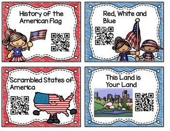 July FREEBIE QR Codes Sample