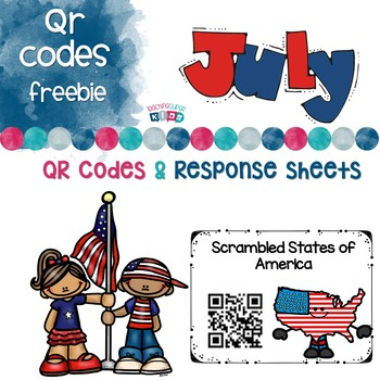 July FREEBIE QR Codes Sample