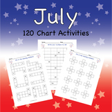 120 Chart Activities July Fireworks
