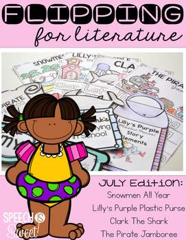 July: Flipping for Literature