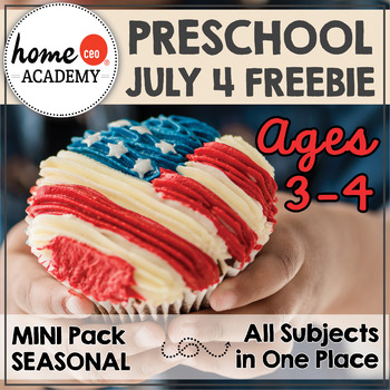 July Fourth Preschool Free