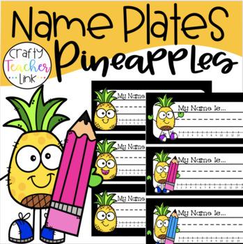 Pineapple Name Plates / Freebie