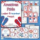 Letter Match and Number Match American Theme