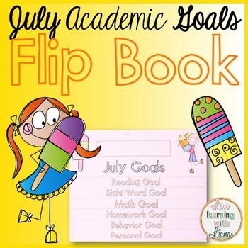 July Goals Flip Book